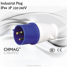 IECCEE Female and male splash proof Industrial plug IP44 32A 3P 023