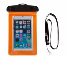 Fashionable customized waterproof pouches for cell phones