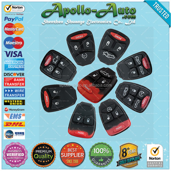Apollo-Auto.com :: Rubber Pad for Chrysler Remote Keys