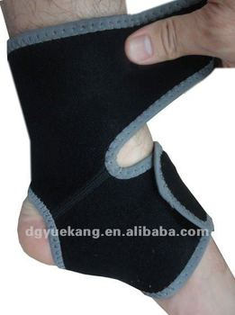 Adjustable neoprene ankle support