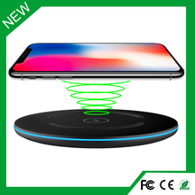 Round Wireless Battery Cell Phone charging qi For iPhoneX,iPhone 8,8Plus,Samsung