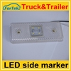 Factory price side marker light auto led side lamp for truck long warranty Euro Emark Approved