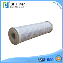Household water fountain coal char activated carbon filter
