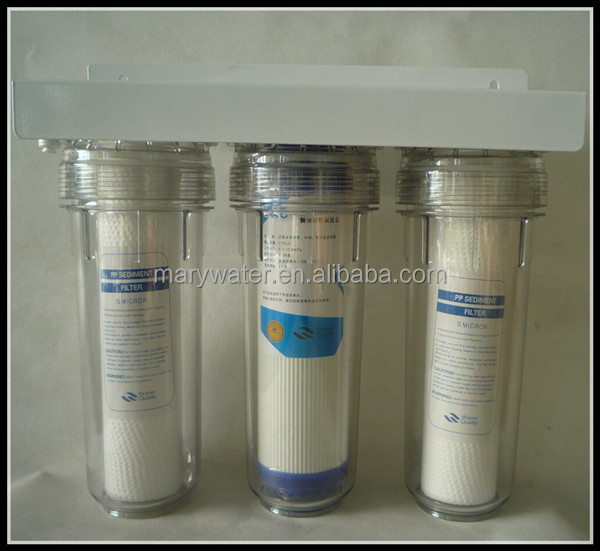 non electrical 3 stage 10 inch water filter