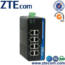 ZTEcom High Reliability Unmanaged Full Gigabit 8 ports Industrial Ethernet Switch