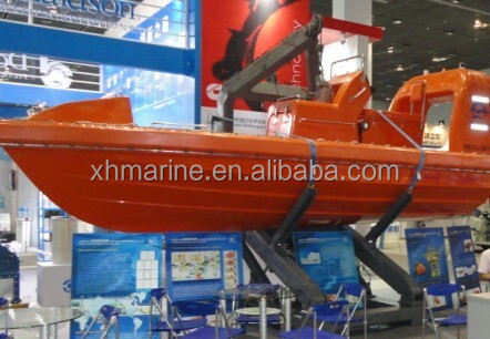 CCS, BV,EC,ABS Approved 9 Persons Fast Rescue Boat