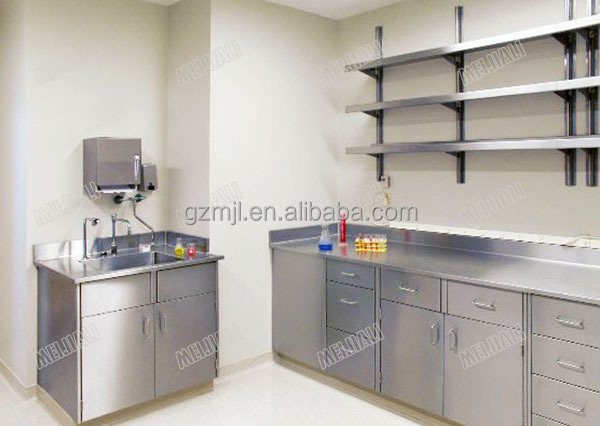 Hospital Stainless steel laboratory Central Bench/super fastest delivery