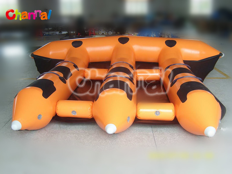 inflatable flying fish towable boat inflatable banana boat