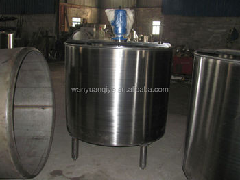 conical bottom mixing tank single layer mixing tank