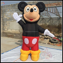 3M Promotional Inflatable Mickey Mouse Cartoon Mascot Advertising Mickey Mous Model On Sale