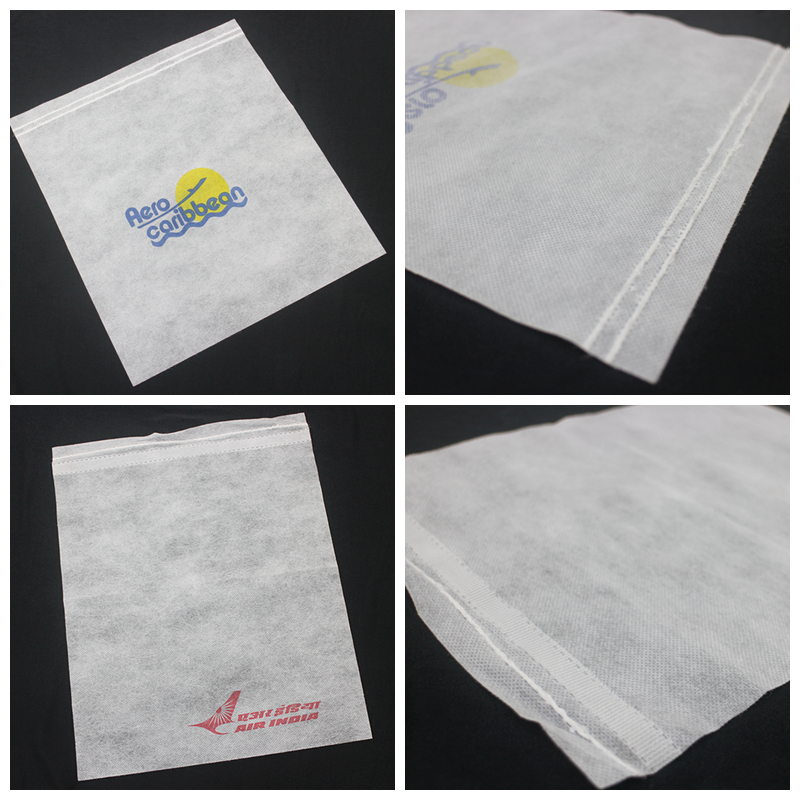 2017 PP nonwoven disposable airline headrest cover