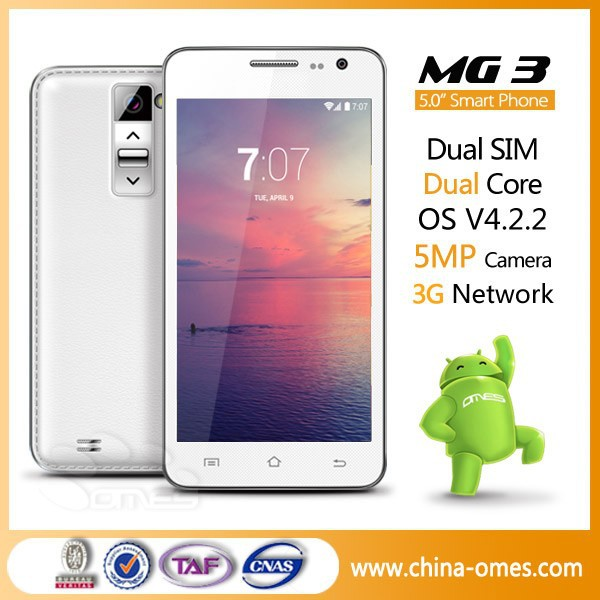 MG3 5MP Dual Core Fundas Chinos Android Telefonos Moviles