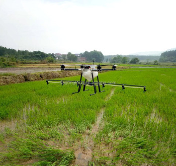 professional drone sprayer for spraying pesticide in farm plant protection