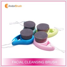 Bamboo Charcoal Fiber Brushes Beauty Cleaning Facial Brushes