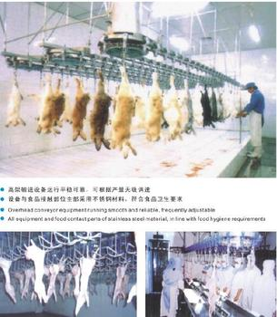 GOOD QUALITY RABBIT SLAUGHTER MACHINE LINE