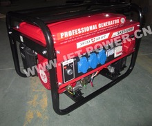 Germany 6.5HP gasoline engine SWISS KRAFT 8500w gasoline generator