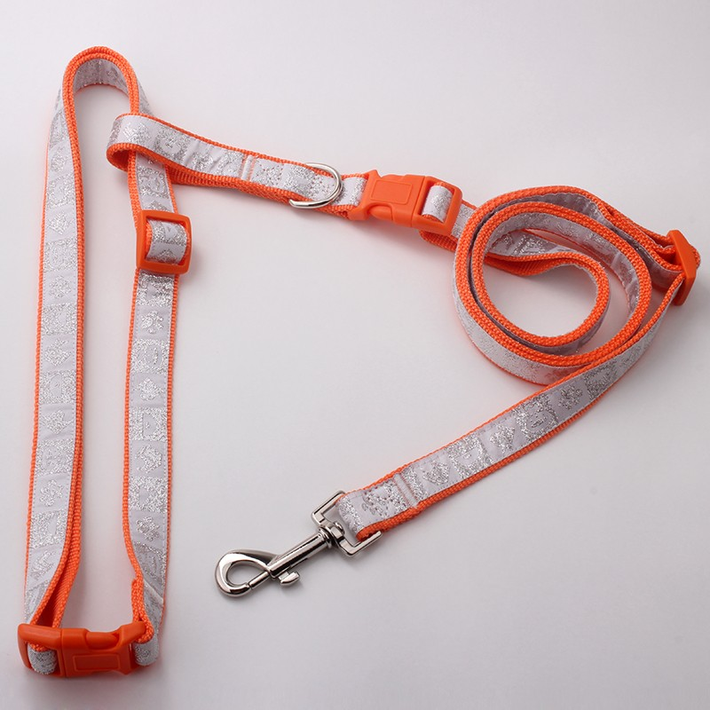 Best Selling Products Fashional Polyester Dog Bike Leash With Hands Free