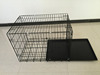 "18"" 24"" 30"" 36"" 42"" 48"" 52"" XXL pet dog cage kennel black color"