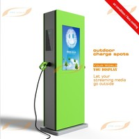 42inch outdoor LCD advertising equipment with Charging pile