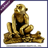 Indoor decoration resin monkey animal statues