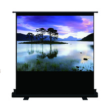 60inch 80inch Portable Floor Stand Fabric Rear Projection Screen