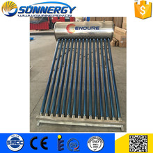 Customized professional high quality alpha compact solar water heater manufacturer