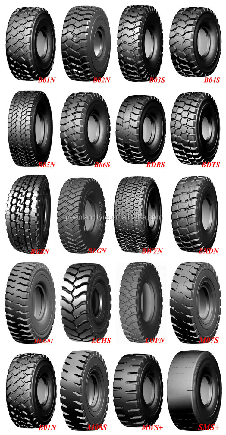 Otr Off The Road Tires Bdts 235 R25 Dump Truck Big Tires