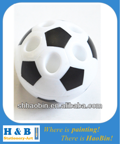soccer ball shape pencil sharpener