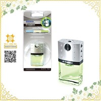 Luxury and elegant air freshener glass car perfume