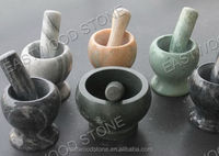 Nature stone mortar and pestle