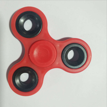 anti stress cheap plastic ceramic finger fidget spinner spinning top toy excellent in cushion effect
