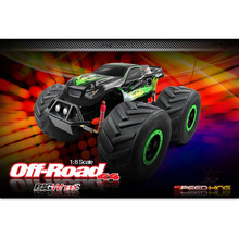 DX Best Selling 1:8 4WD 2.4G Big Wheel Rock Crawler RC Car for Sale