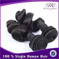 2016 Popular Products 36 Inch Brazilian Loose Wave 100% Human Hair Weaving