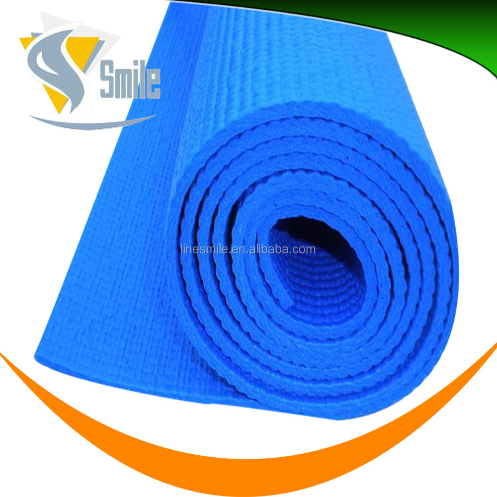 eco-friendly exercise 7mm PVC gym yoga mats