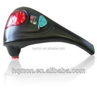 dual head fist shaped Hand Held Body infrarer Massager Vibrators back waist massager hammer