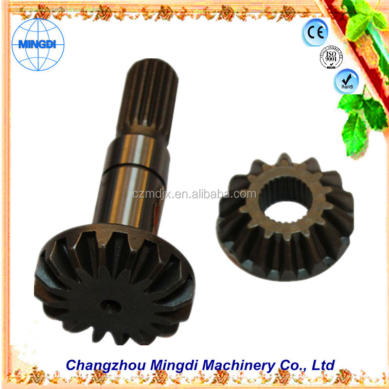 differensial gear for motorcycle Changzhou Machinery planetary mechanical Machine Gears used Crown Pinion Gears Ring