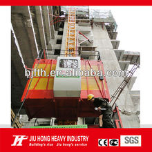 Beijing Factory Rack and pinion hoist Residence building elevator CE and ISO approved