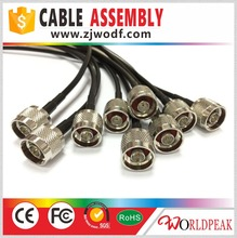 7/16 din male connector to n male with 1/2 superflexible jumper cable
