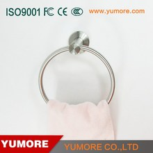 304 SUS modern design bathroom accoessories towel ring towel hanger