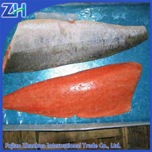 High quality frozen salmon fillet