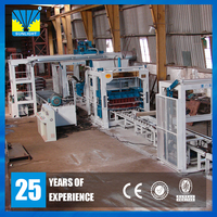 QT12-15 pallet with legs fully automatic concrete interlocking block making machine
