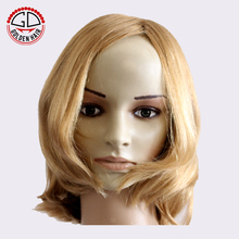 Top Grade Quality 100% Virgin Caucasian Hair Human Hair Wig