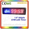 Professional 7 segment led display for countdown timer for wholesales