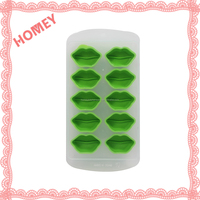 Hot New Safety TPR F Lip Shape More Specifications Custom Ice Cube Mold Tray
