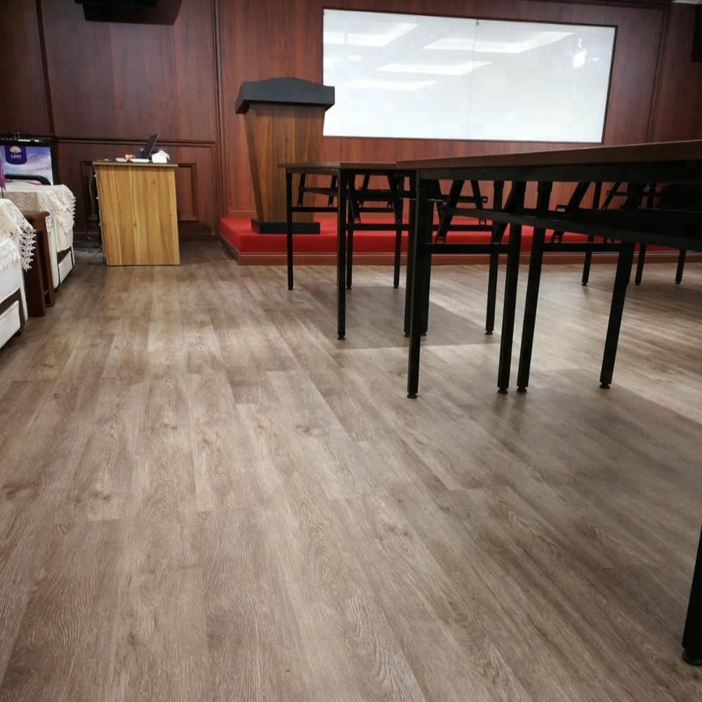 Popular vinyl flooring click from china