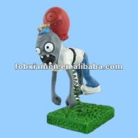 Adorable Plants Vs Zombies Cute Resin Boolloon Zombie Figurine