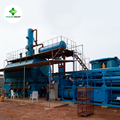 New technologies for waste oil recycling to diesel machine
