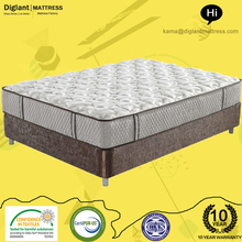 Comfortable Pocket Spring Luxury Firm Plush Traditional Coil Mattress 180x190