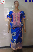 Newest Popular Hot Sale Traditional Women African Clothing Kaftan Dashiki CL4169