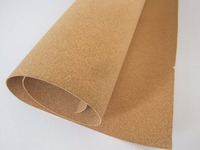 High quality 1mm-15mm thick cork sheet on sale